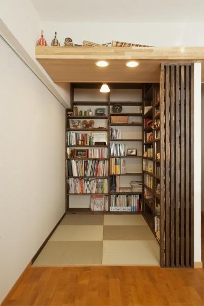 本棚 (T邸・休日はおうちカフェで・・・)