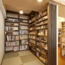 T邸・休日はおうちカフェで・・・の写真 本棚