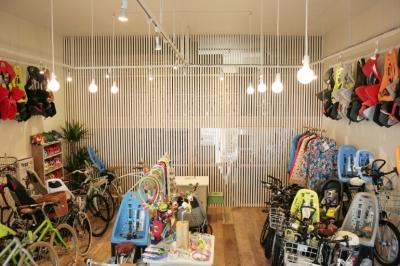 自転車店舗 内装 (西早稲田自転車店リピト・イシュタール2号店)