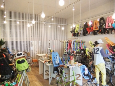 自転車店舗 内装-2 (西早稲田自転車店リピト・イシュタール2号店)