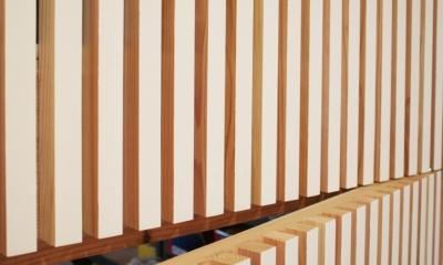 自転車店舗 木製ルーバー-2|西早稲田自転車店リピト・イシュタール2号店