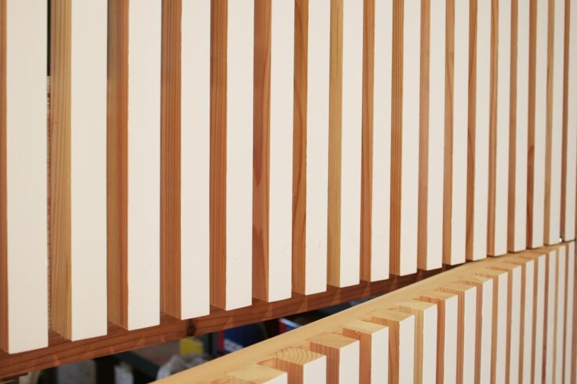 西早稲田自転車店リピト・イシュタール2号店の部屋 自転車店舗 木製ルーバー-2