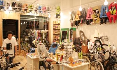 自転車店舗 内装-3|西早稲田自転車店リピト・イシュタール2号店