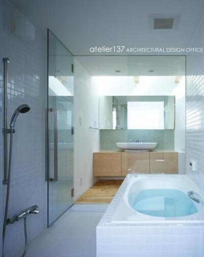 バスルーム (011船橋Kさんの家)