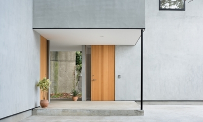 玄関|横須賀の家