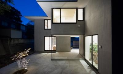 横須賀の家 (外観(夜景))