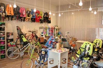 自転車店舗 内装-4 (西早稲田自転車店リピト・イシュタール2号店)