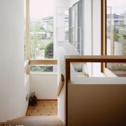 002八潮Fさんの家 (階段)