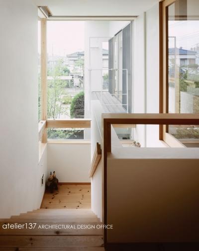 階段 (002八潮Fさんの家)