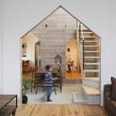 ALTS DESIGN OFFICEの住宅事例「物語のなかに入ったようは非日常を感じられる家(羽束師の家)」