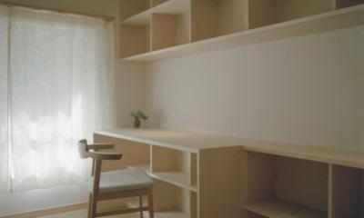書斎 2|たまプラーザ団地リノベーション