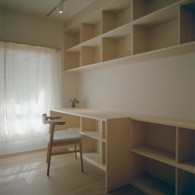 書斎 2 (たまプラーザ団地リノベーション)