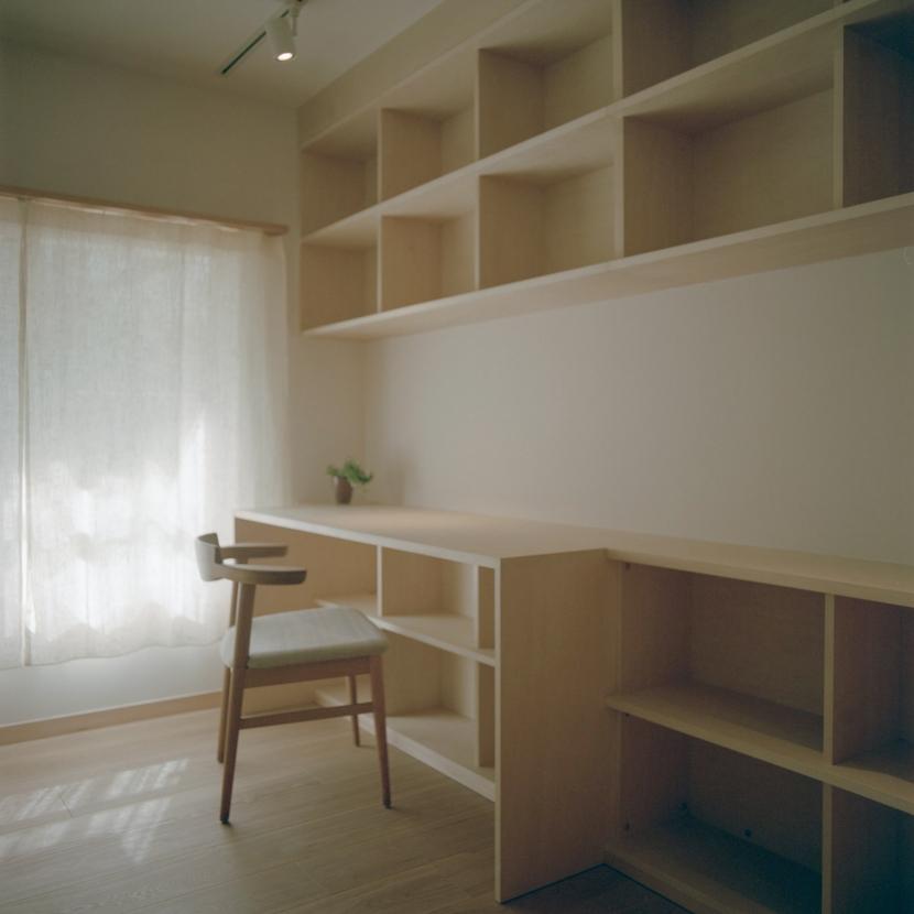 たまプラーザ団地リノベーションの部屋 書斎 2