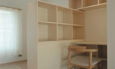 書斎 1|たまプラーザ団地リノベーション