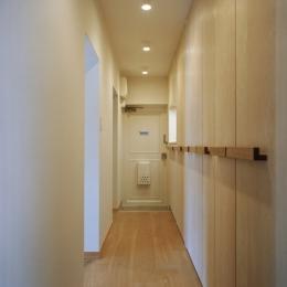 たまプラーザ団地リノベーション (廊下 1)