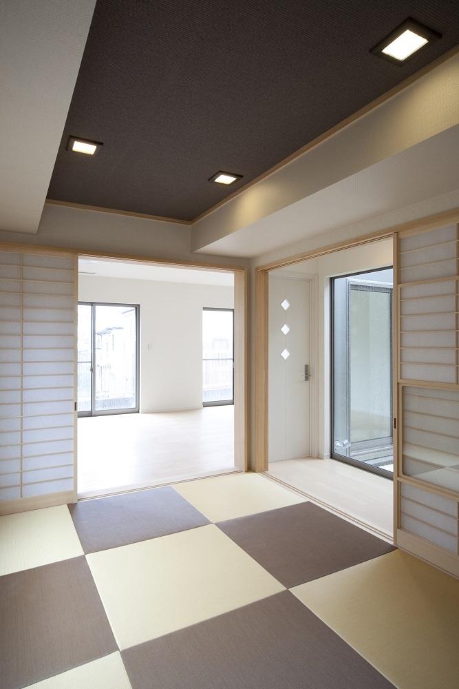 蔵とヴァイオリン室のある家の部屋 和室