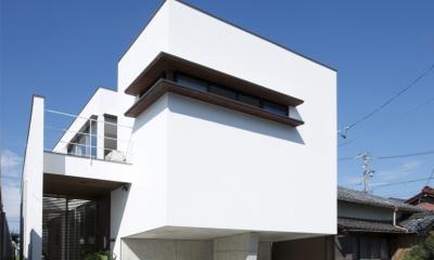江南の家(プライベートテラスと蔵のある家) (外観2)