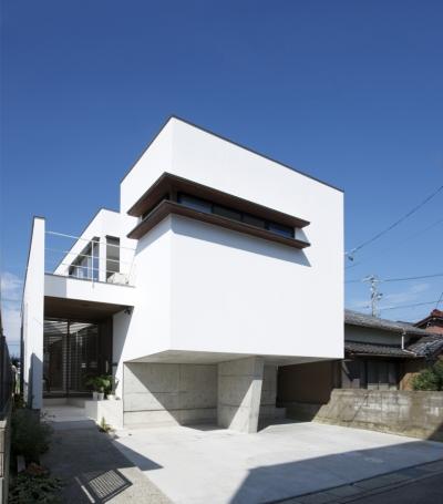 外観2 (江南の家(プライベートテラスと蔵のある家))