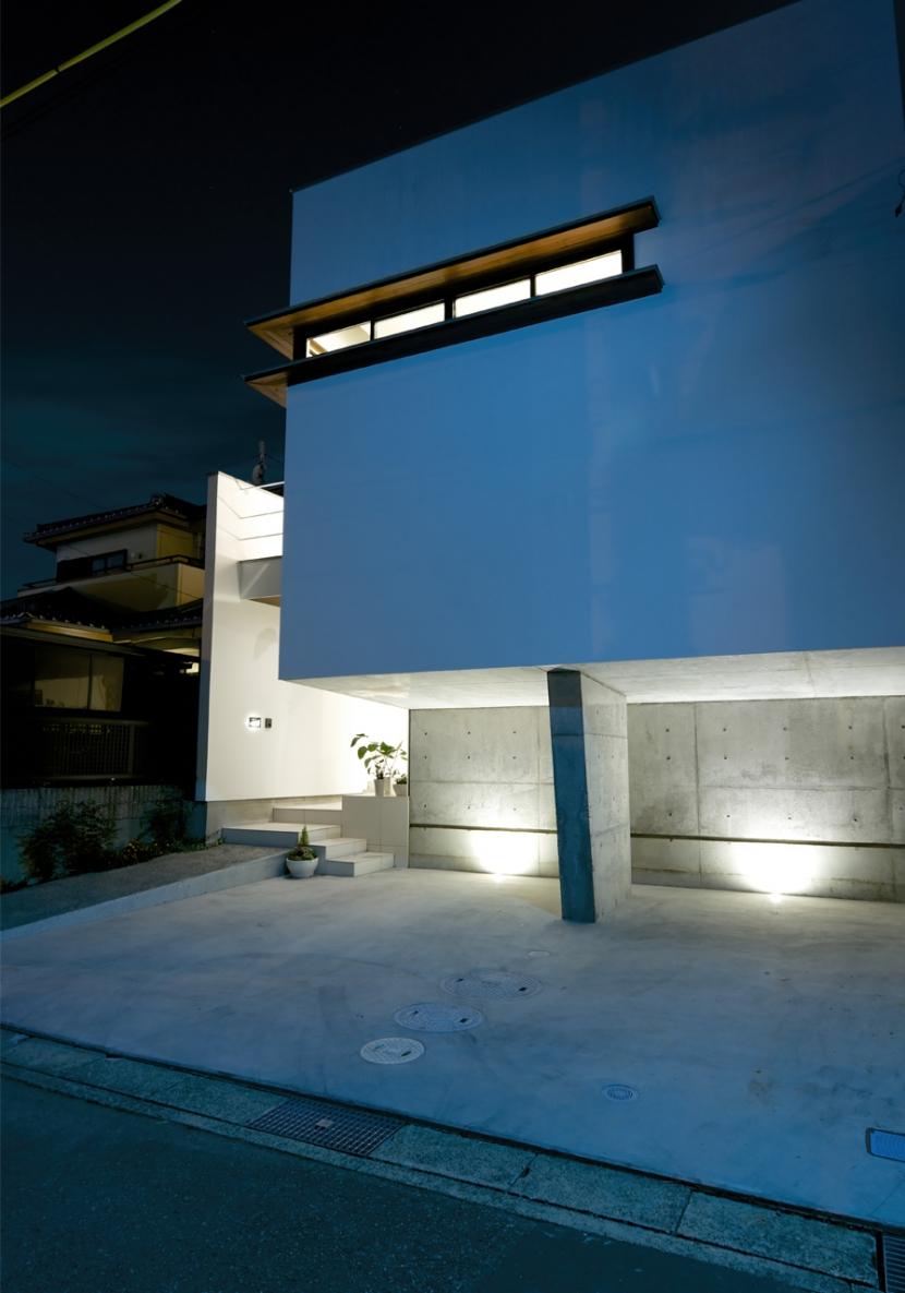江南の家(プライベートテラスと蔵のある家)の部屋 外観4