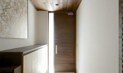 江南の家(プライベートテラスと蔵のある家) (玄関1)