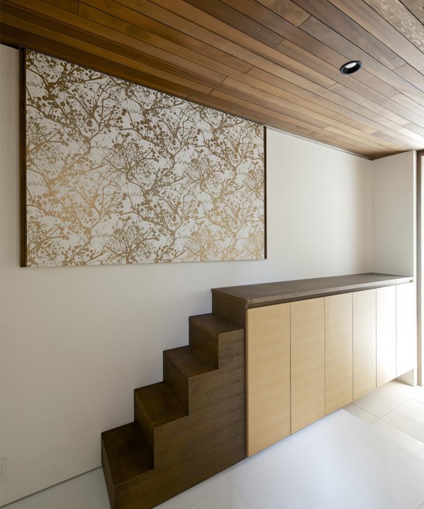 江南の家(プライベートテラスと蔵のある家)の部屋 玄関2