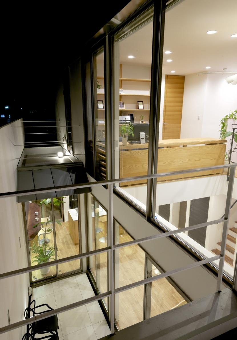 江南の家(プライベートテラスと蔵のある家)の部屋 バルコニー1