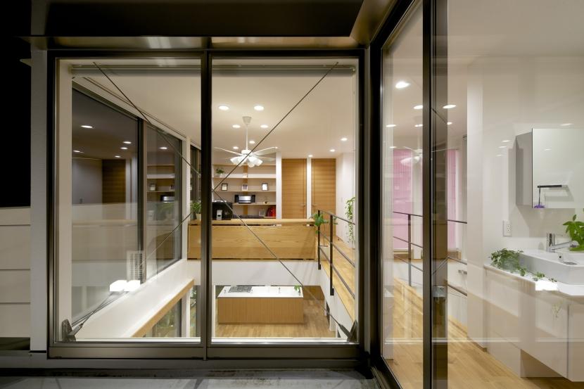 江南の家(プライベートテラスと蔵のある家)の部屋 バルコニー2