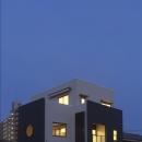 和楽3層住宅の写真 夜景