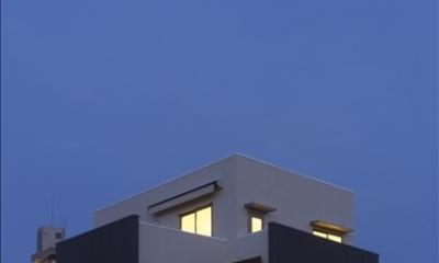 和楽3層住宅 (夜景)