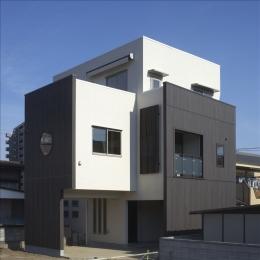 和楽3層住宅 (外観)