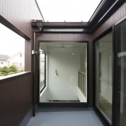 ヴァーティカル・ドリーミン (2階のインナーバルコニー)