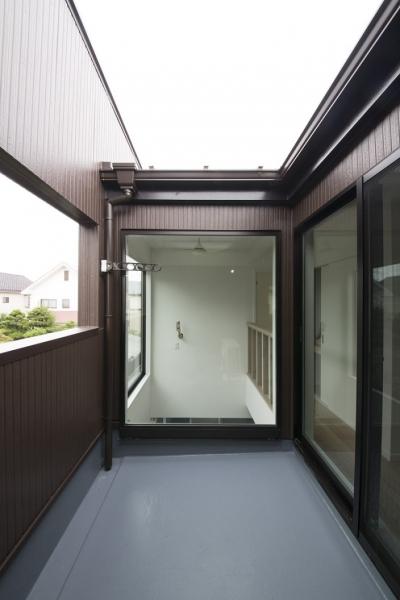 2階のインナーバルコニー (ヴァーティカル・ドリーミン)