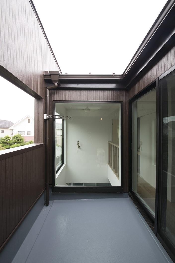 ヴァーティカル・ドリーミンの部屋 2階のインナーバルコニー