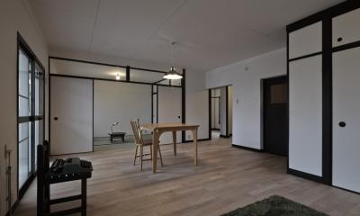 しんかな団地リペア さくらの家|いい団地だからなおして暮らす。古きよき団地をめでるリノベーション。