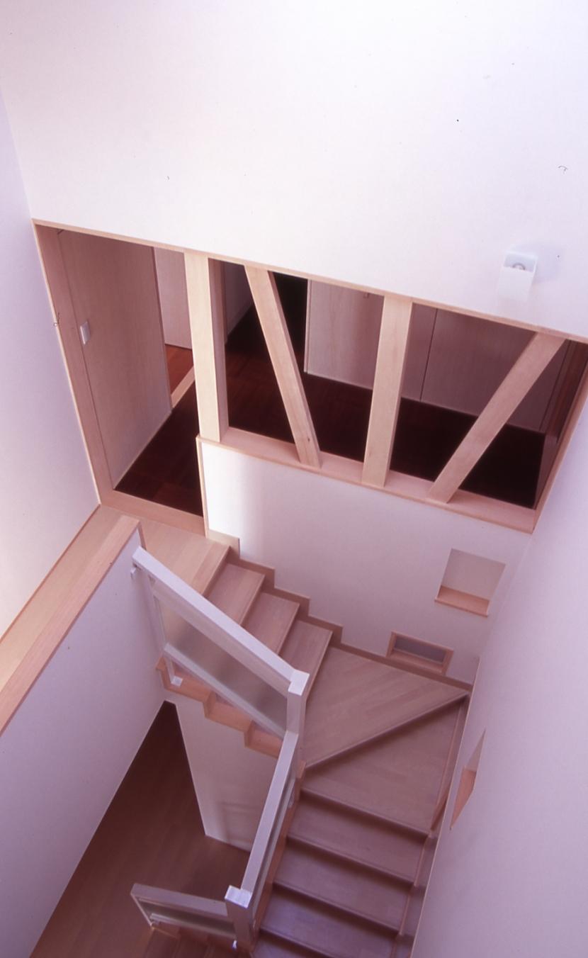 建築家:吉永建築デザインスタジオ「大階段のある二世帯住宅」