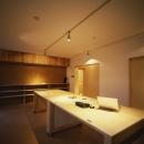 吉永建築デザインスタジオの住宅事例「長岡京の団地SOHO|昭和40年代の団地をSOHOにリノベーション」