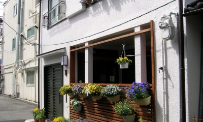インナーテラスのある長屋リノベーション|長屋でも庭が持てる!