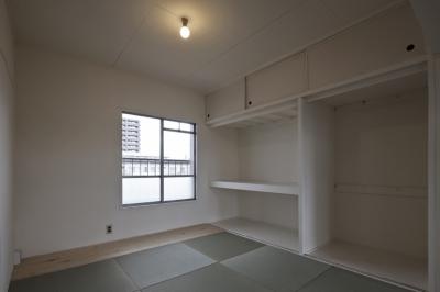 和室 (しんかな団地リペア くりの家|いい団地だからなおして暮らす。古きよき団地をめでるリノベーション。)