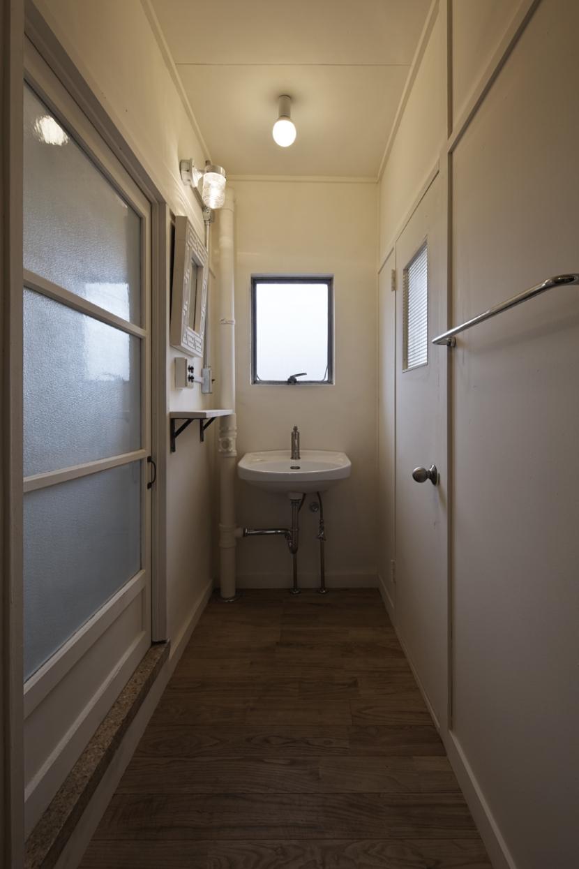 しんかな団地リペア くりの家の部屋 洗面室