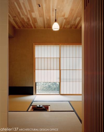 お茶室 (R10渋谷Tさんの家)