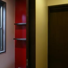 築50年木造家屋のリノベーション (トイレ)
