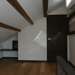 築50年木造家屋のリノベーション (ロフト)