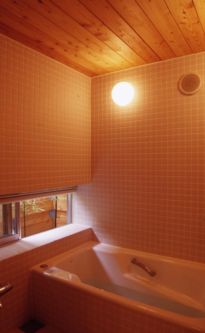 高槻のスキップフロアハウスの部屋 浴室