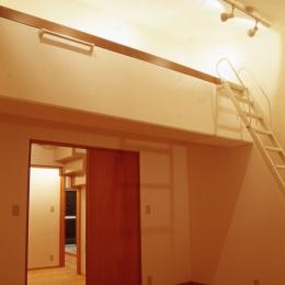 大阪の畳間のあるマンション リノベーション (ベッドルーム)