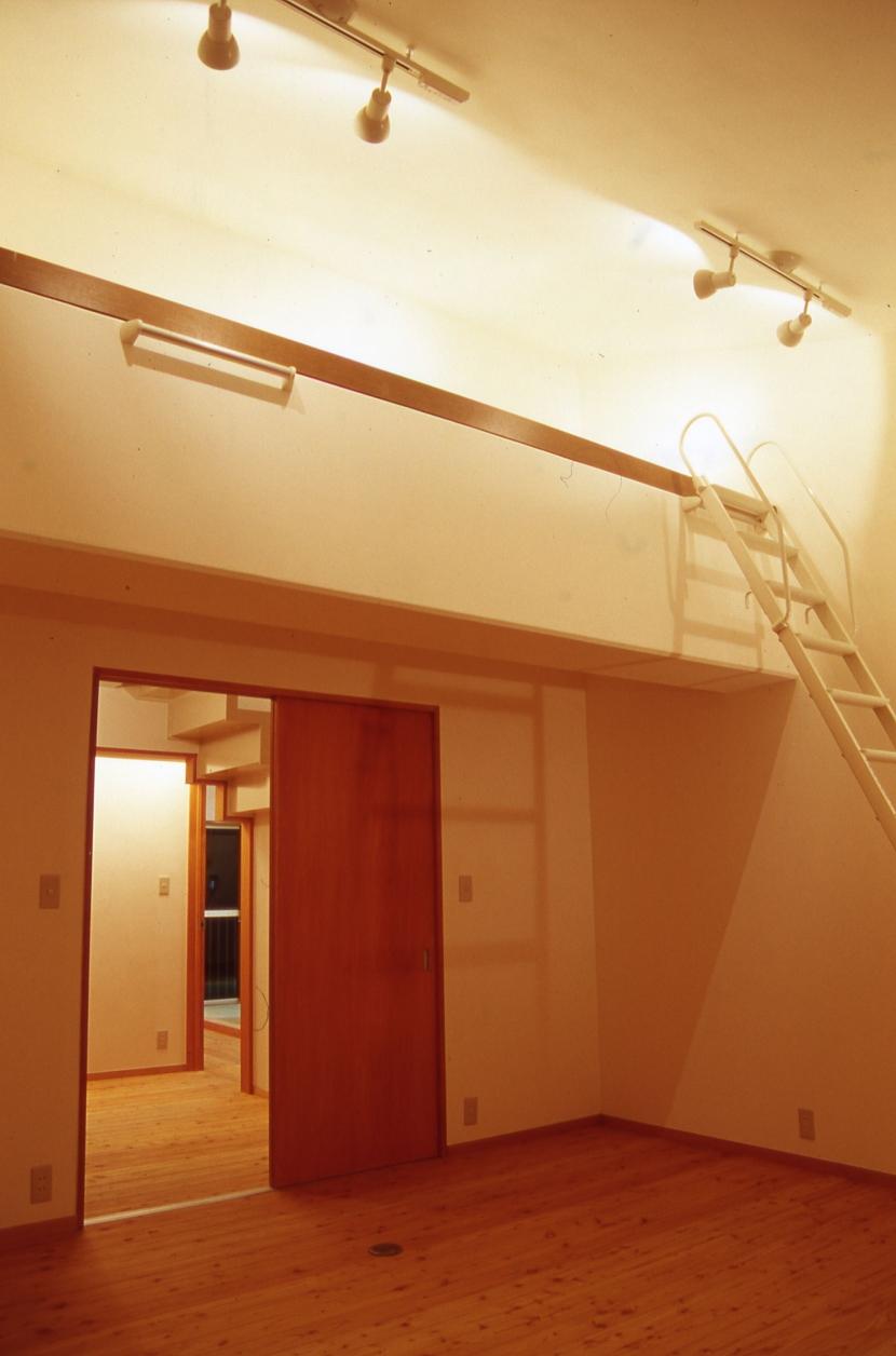 大阪の畳間のあるマンション リノベーションの写真 ベッドルーム
