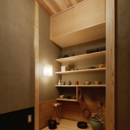 R10渋谷Tさんの家 (水屋)