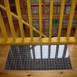 208 外断熱の家 (2階ホールの床)