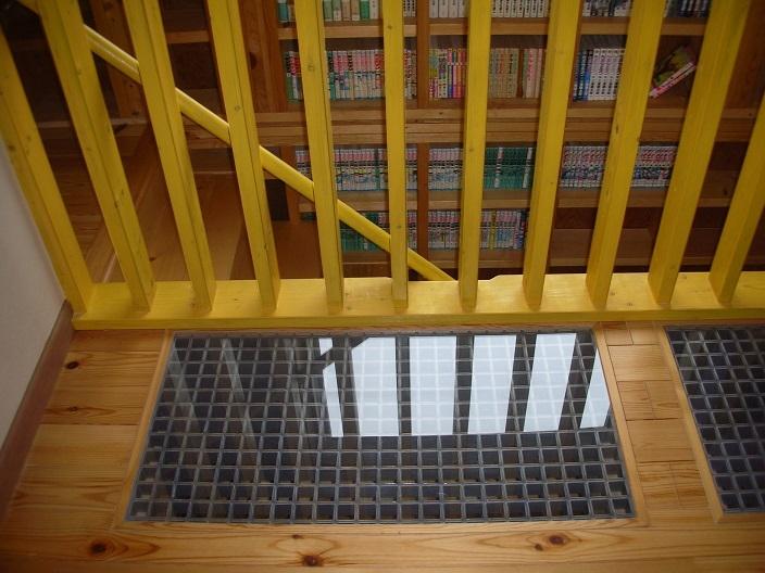 208 外断熱の家の写真 2階ホールの床
