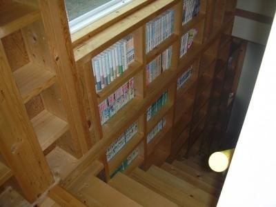 階段 (208 外断熱の家)
