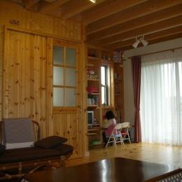 208 外断熱の家 (1階リビング)